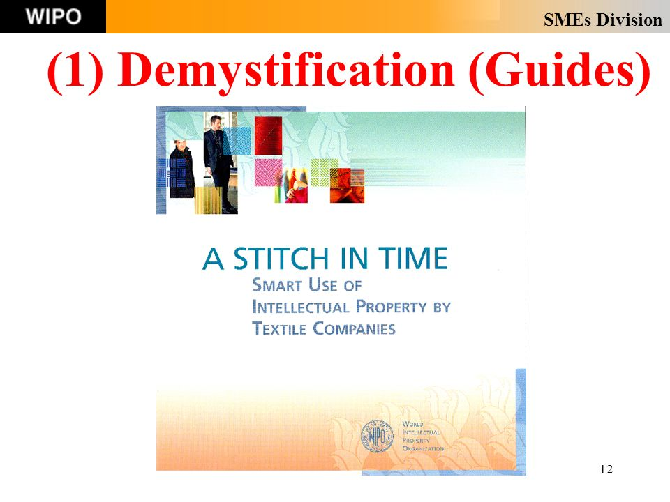 SMEs Division 12 (1) Demystification (Guides)