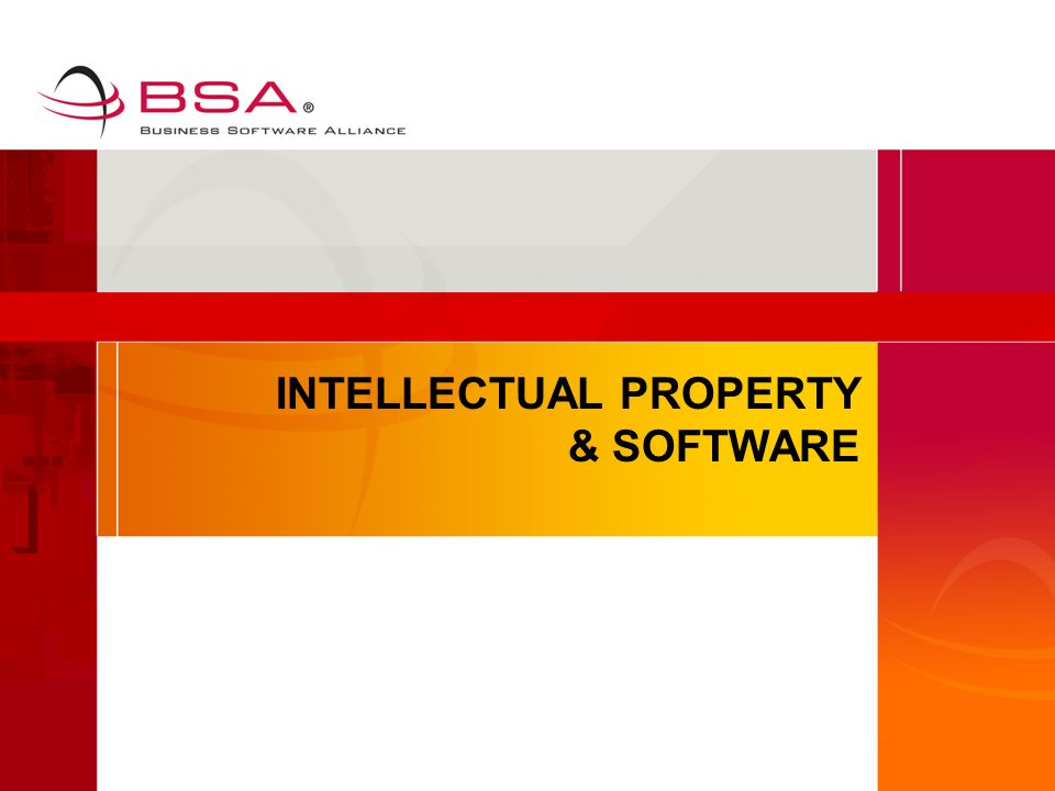 INTELLECTUAL PROPERTY & SOFTWARE