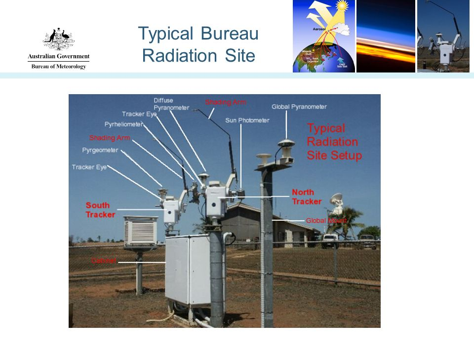 Typical Bureau Radiation Site