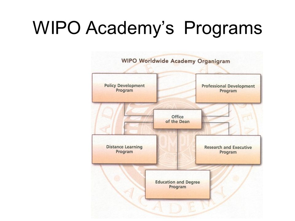 WIPO Academys Programs