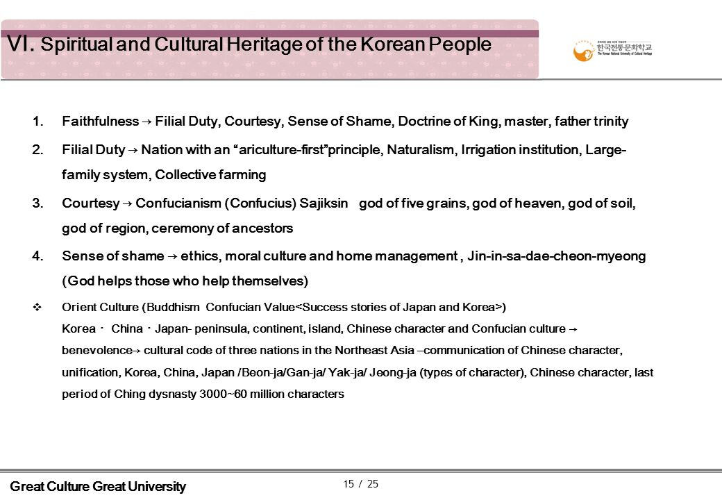 VI.Spiritual and Cultural Heritage of the Korean People Hunminjeongeum