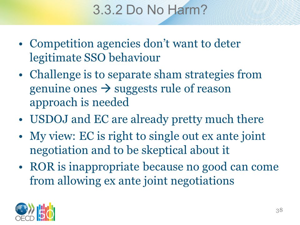 3.3.2 Do No Harm.