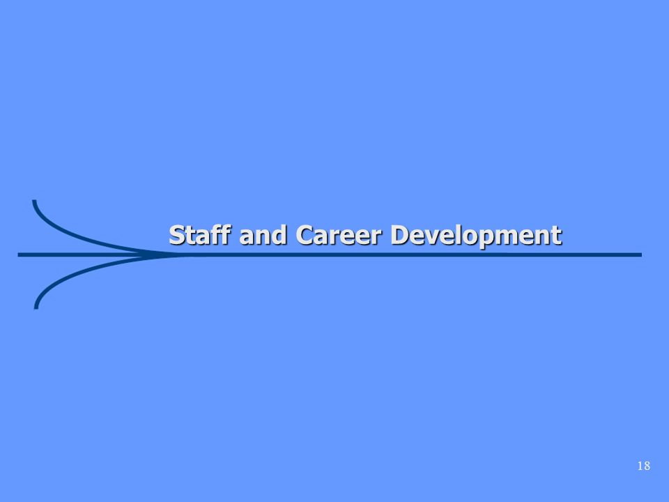 18 Staff and Career Development