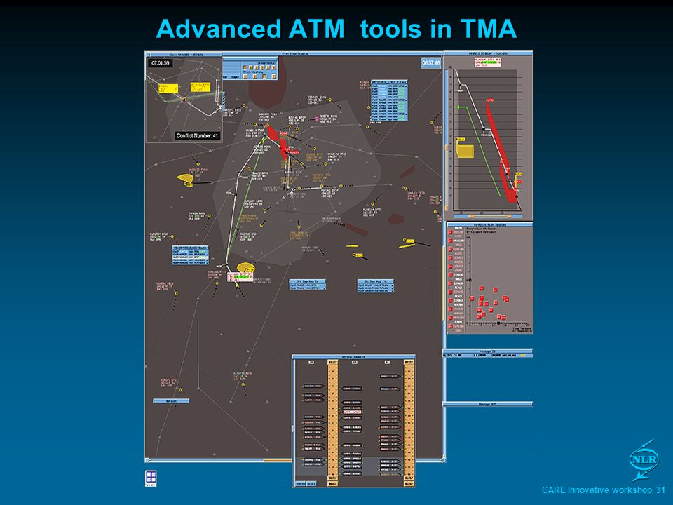 CARE Innovative workshop 31 Advanced ATM tools in TMA