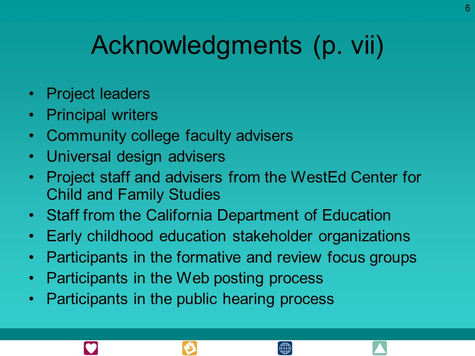 6 Acknowledgments (p.