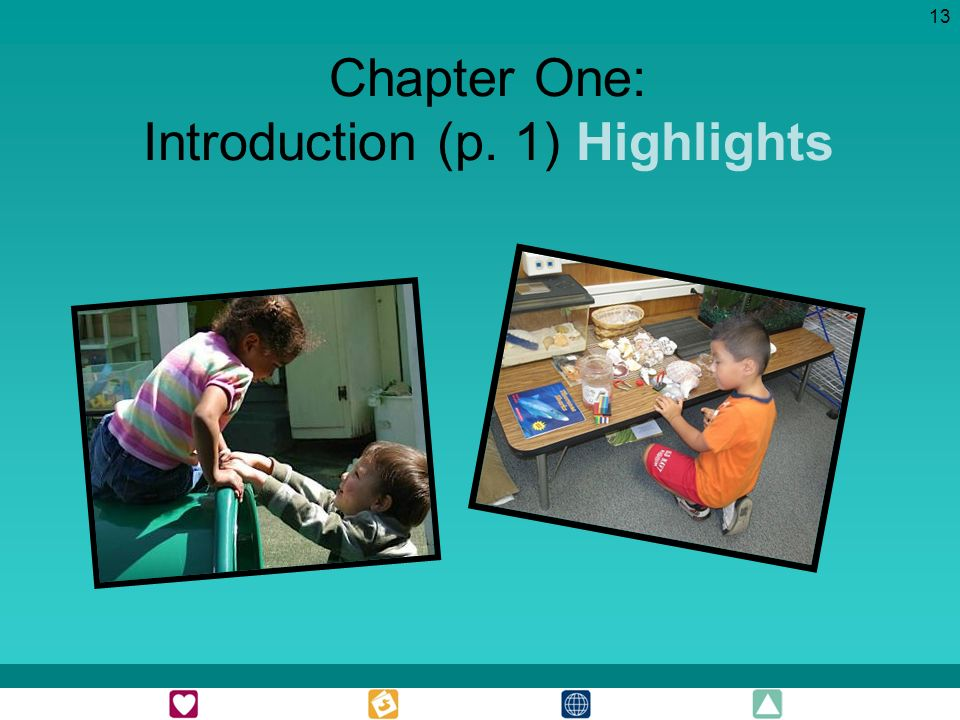 13 Chapter One: Introduction (p. 1) Highlights