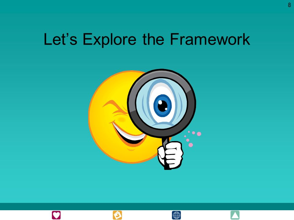 8 Lets Explore the Framework