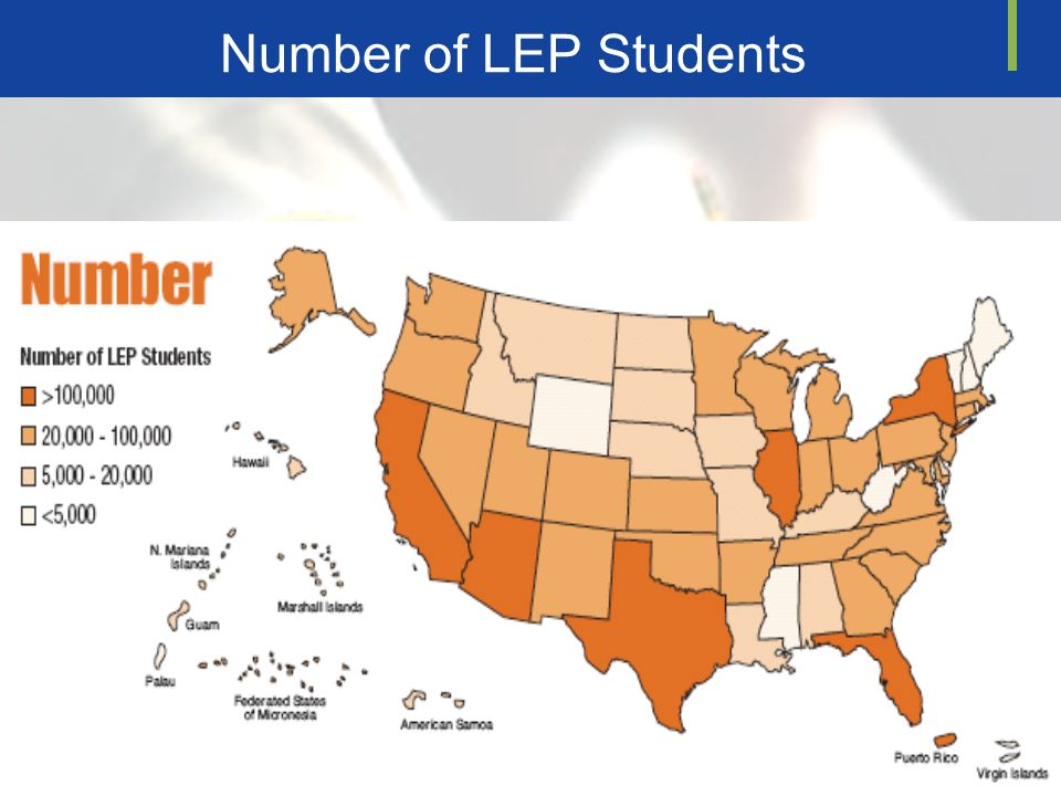 Number of LEP Students