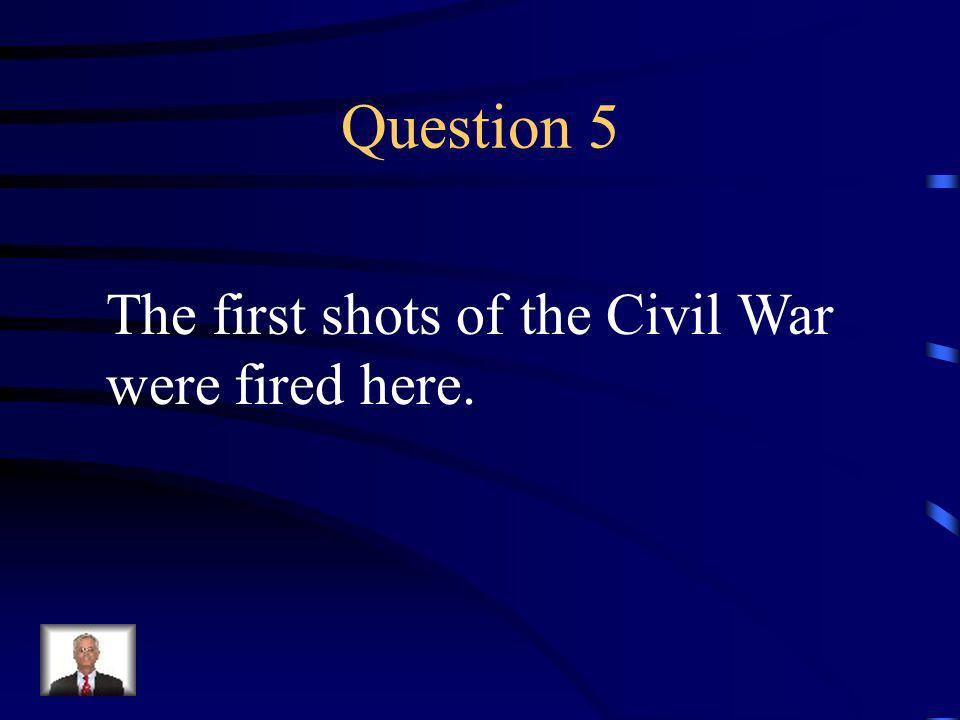 Answer 4 Who was --Frederick Douglas