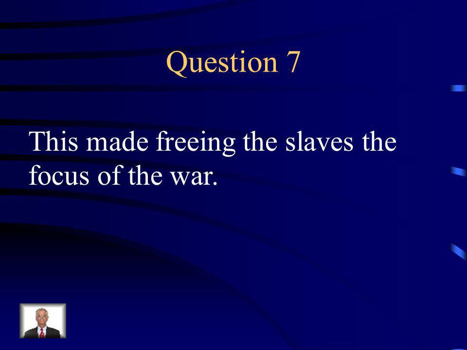 Answer 6 What was --the first Battle of Manassas (Bull Run)
