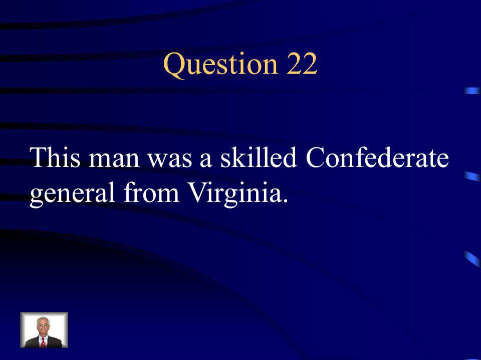 Answer 21 What was --African Americans gained equal rights and federal troops were authorized to enforce the law