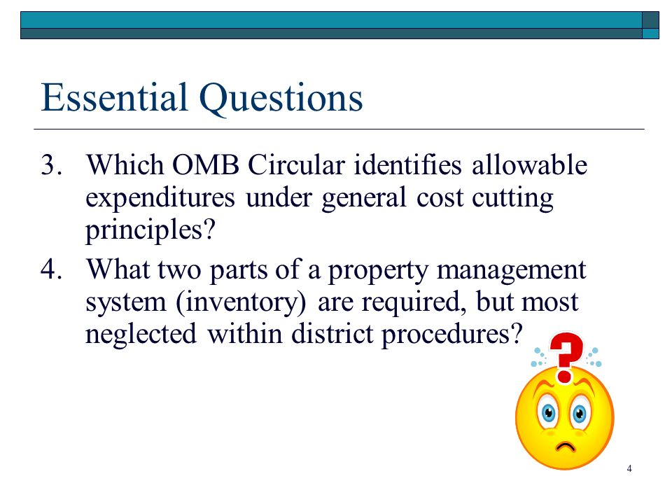 Essential Questions 3.