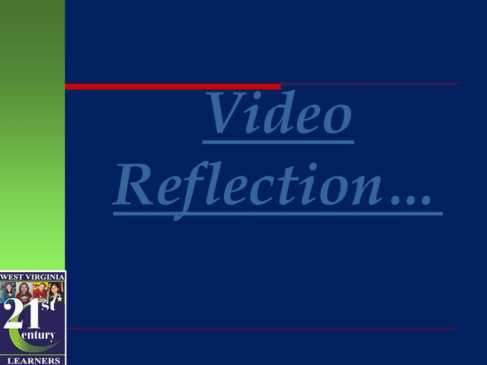 Video Reflection…