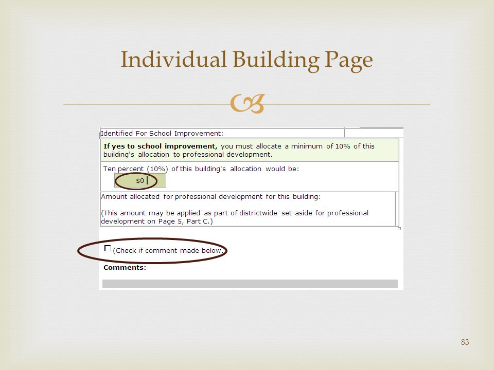 Individual Building Page 83