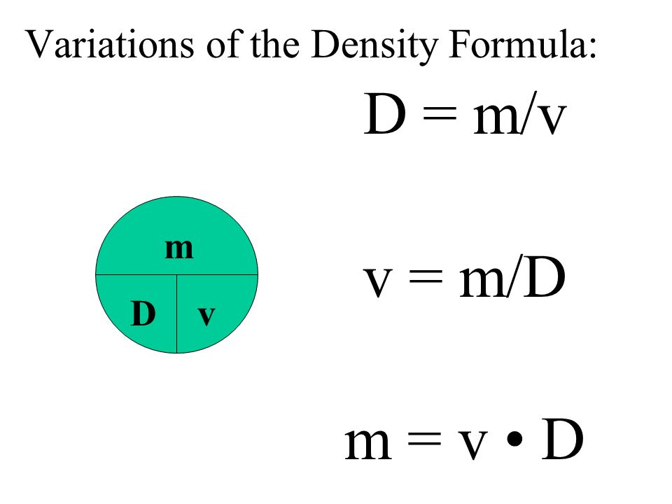 DENSITY - an important and useful physical property 13.6 g/cm 3 21.5 g/cm 3 Aluminum 2.7 g/cm 3 Platinum Mercury