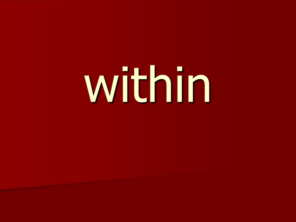 within