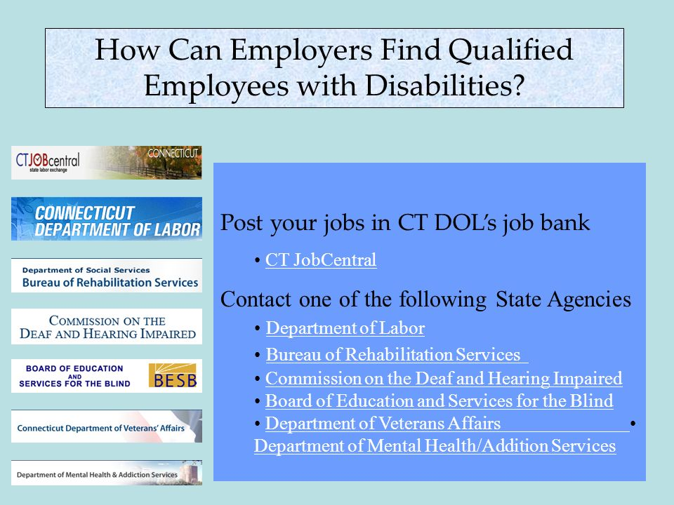 How Can Employers Find Qualified Employees with Disabilities.