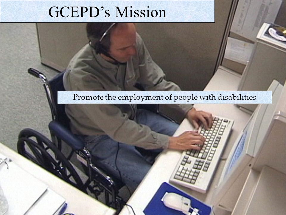 Promote the employment of people with disabilities