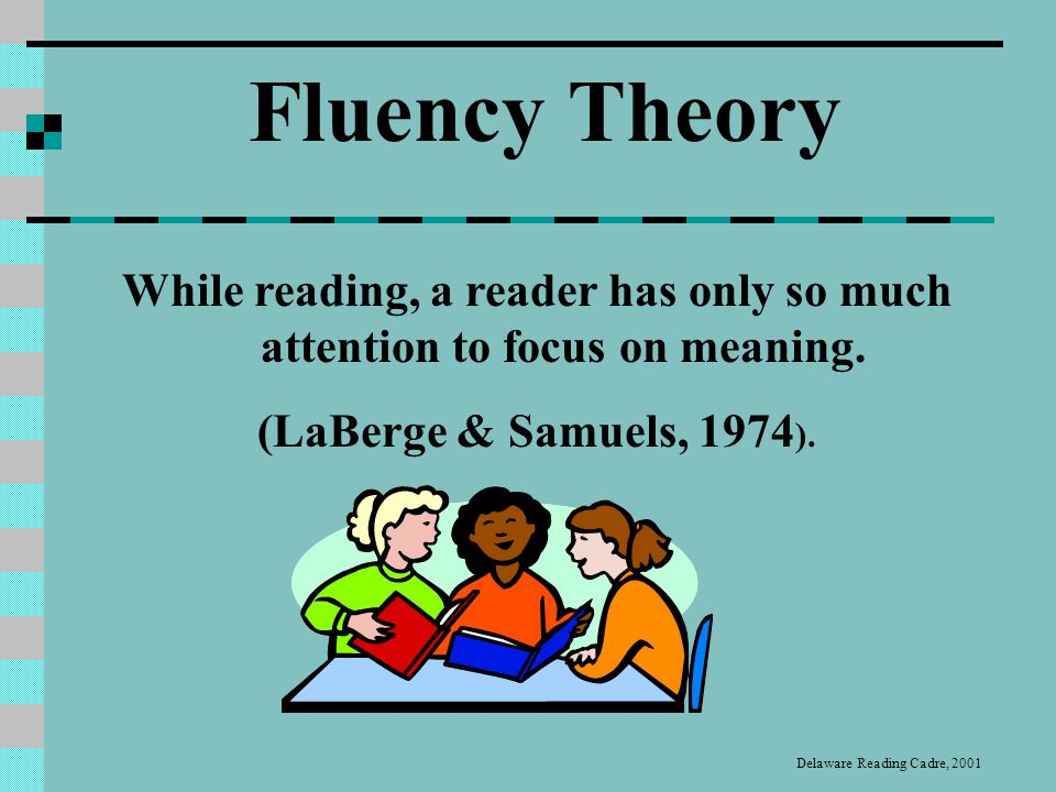 Fluency Although fluency depends upon well developed word recognition skills, such skills do not inevitably lead to fluency.