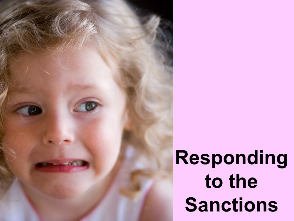 Responding to the Sanctions