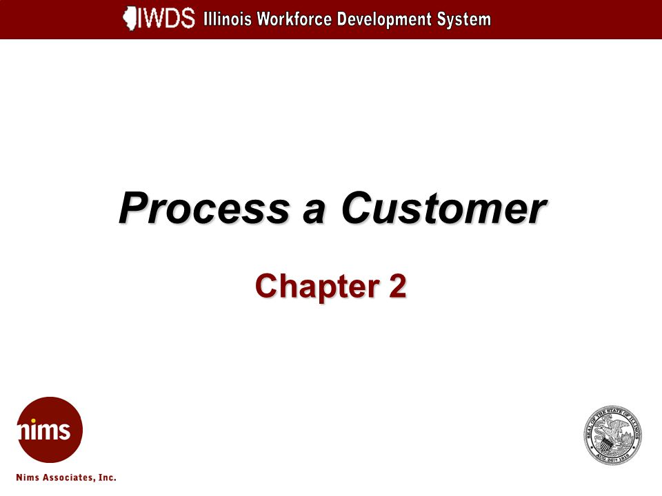 Process a Customer Chapter 2