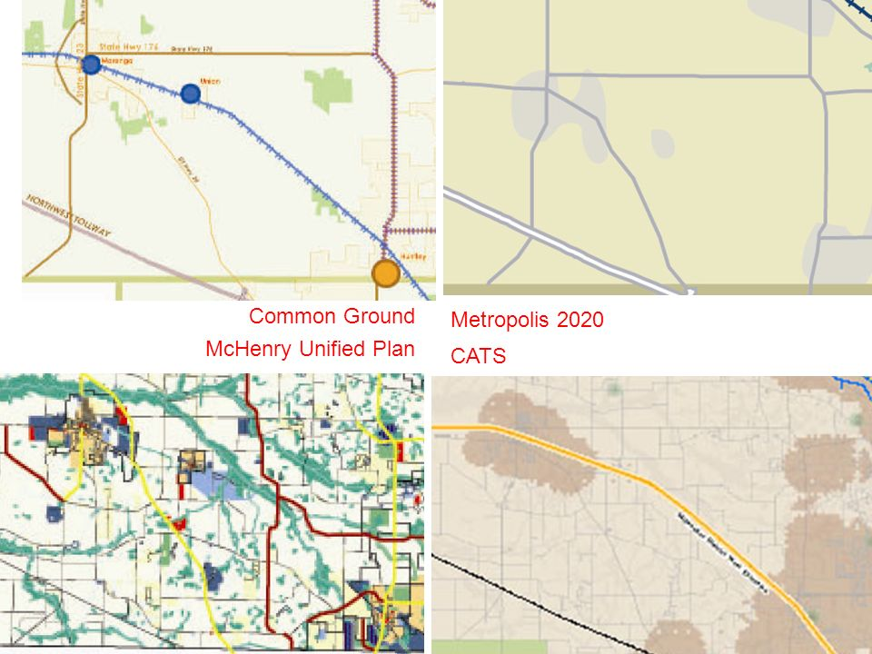 Common Ground McHenry Unified Plan Metropolis 2020 CATS