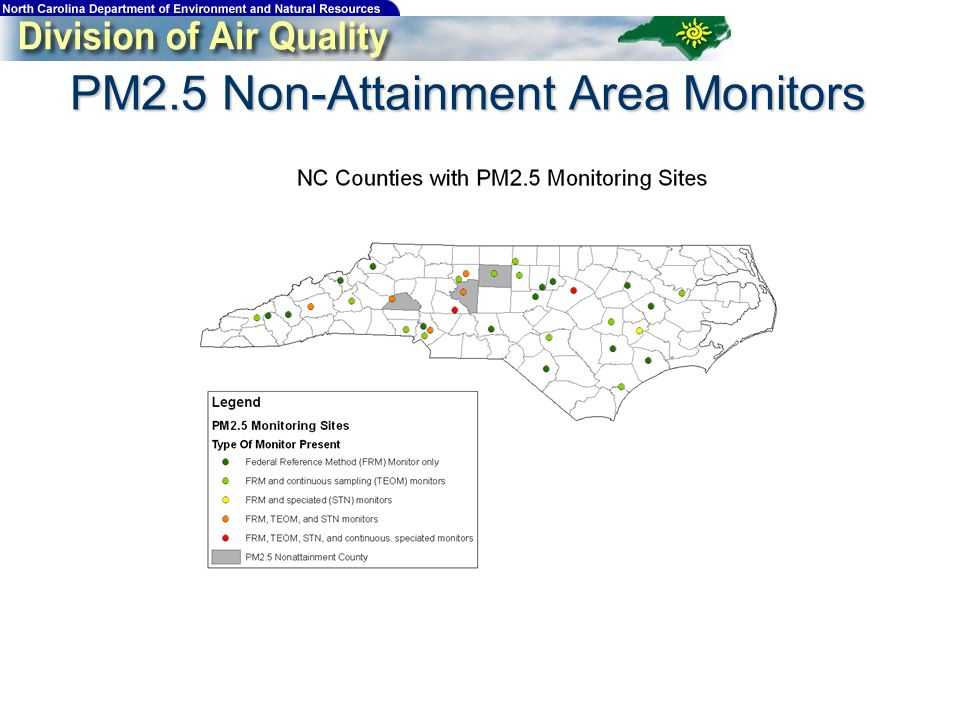 PM2.5 Non-Attainment Area Monitors