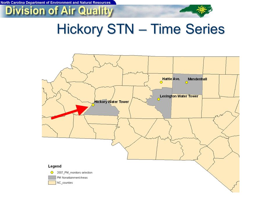 Hickory STN – Time Series