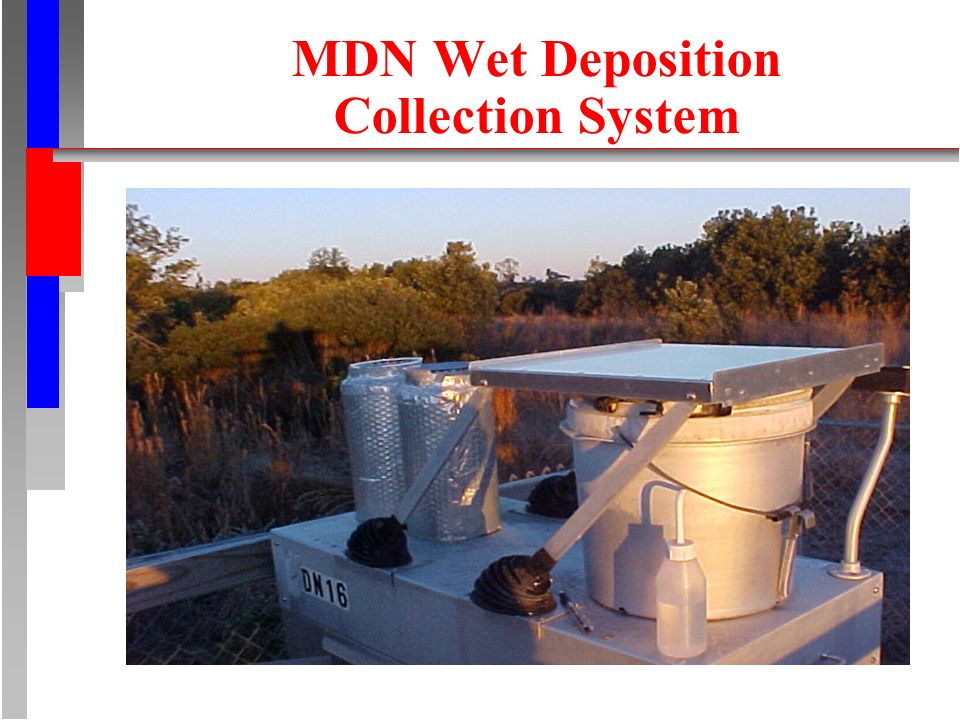 MDN Wet Deposition Collection System