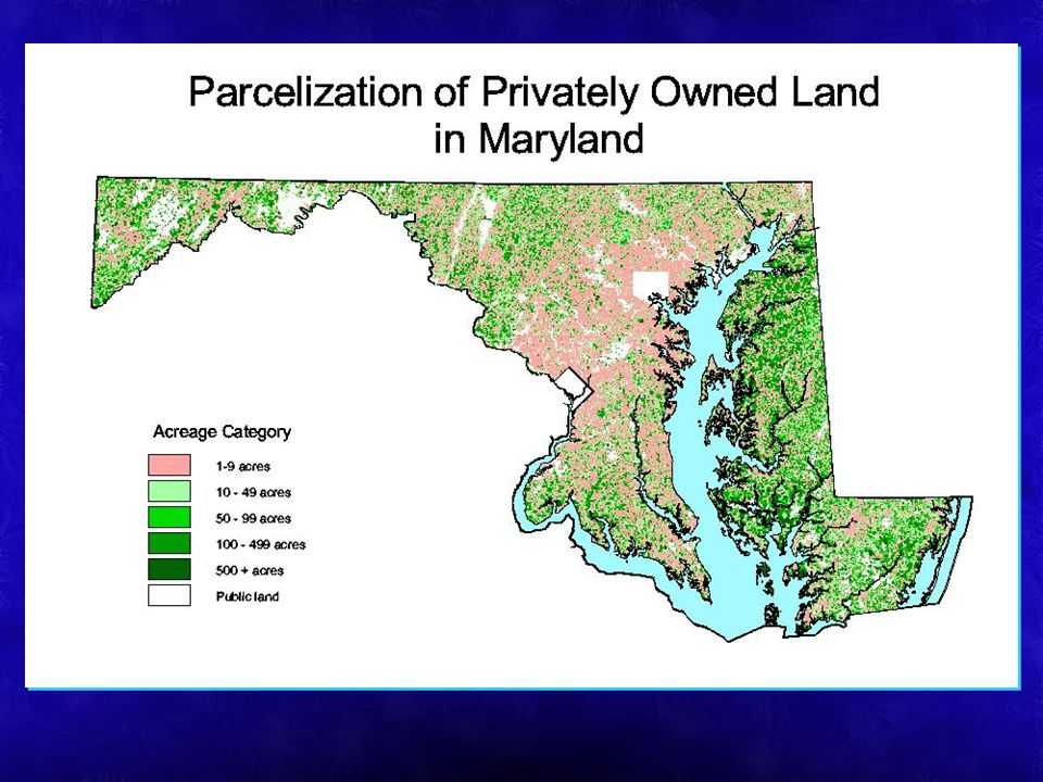 Parcelization of private land