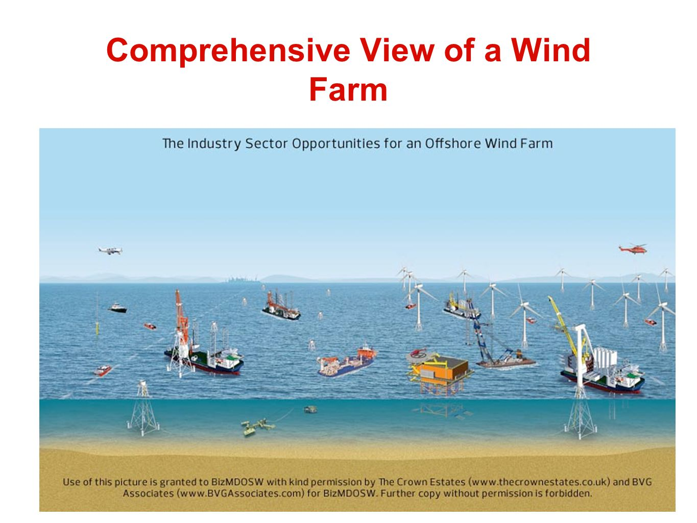 Comprehensive View of a Wind Farm