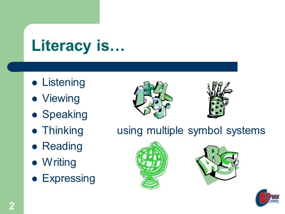 Citrus County Schools, Florida 1 COMPREHENSION INSTRUCTION Citrus: Literacy, Leaders, and Learners Developed by Becky Smith, David Jackson, and Debra Stanley