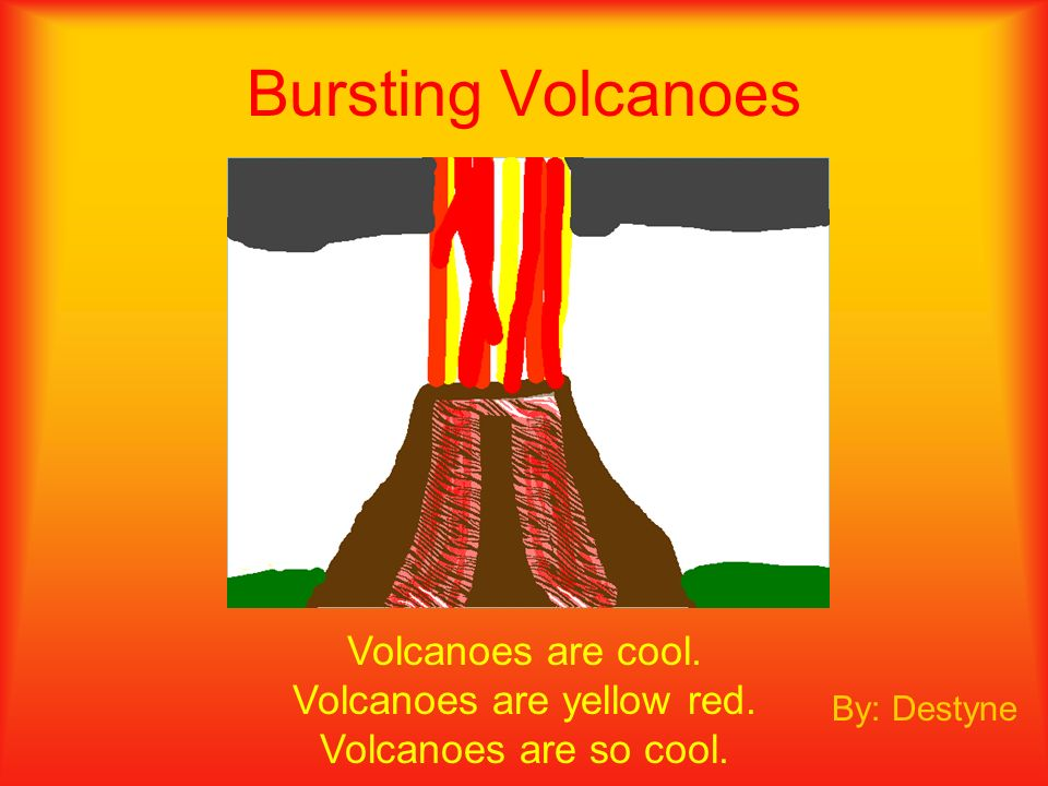 Red steaming lava tall hot fiery volcanoes about to explode JesseJesse Raining Volcano