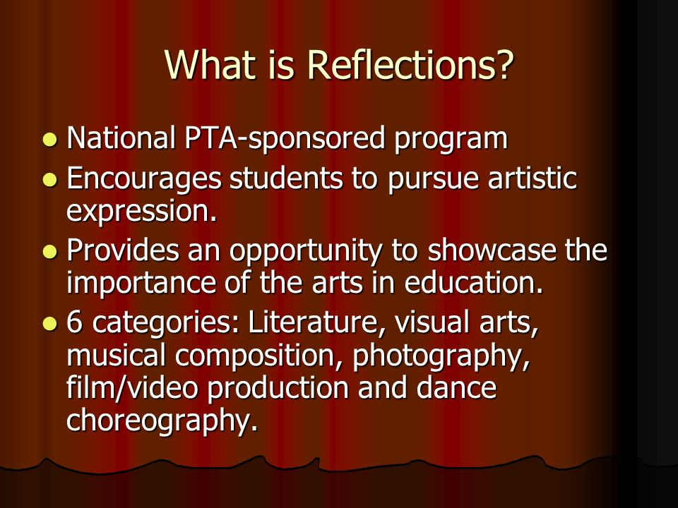 What is Reflections.
