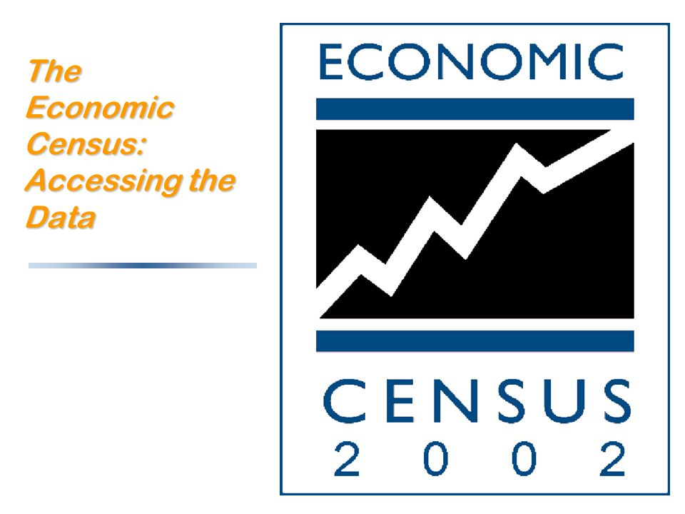 The Economic Census: Accessing the Data