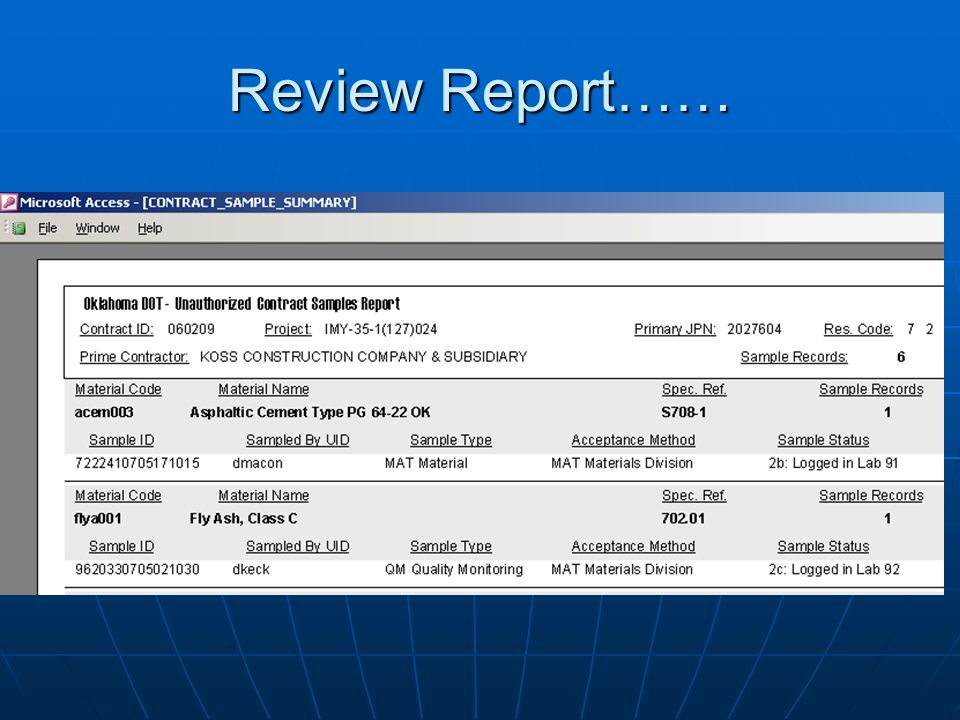 Review Report……