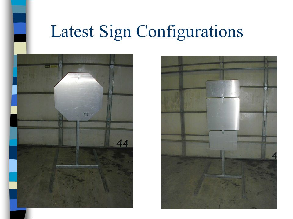 Latest Sign Configurations