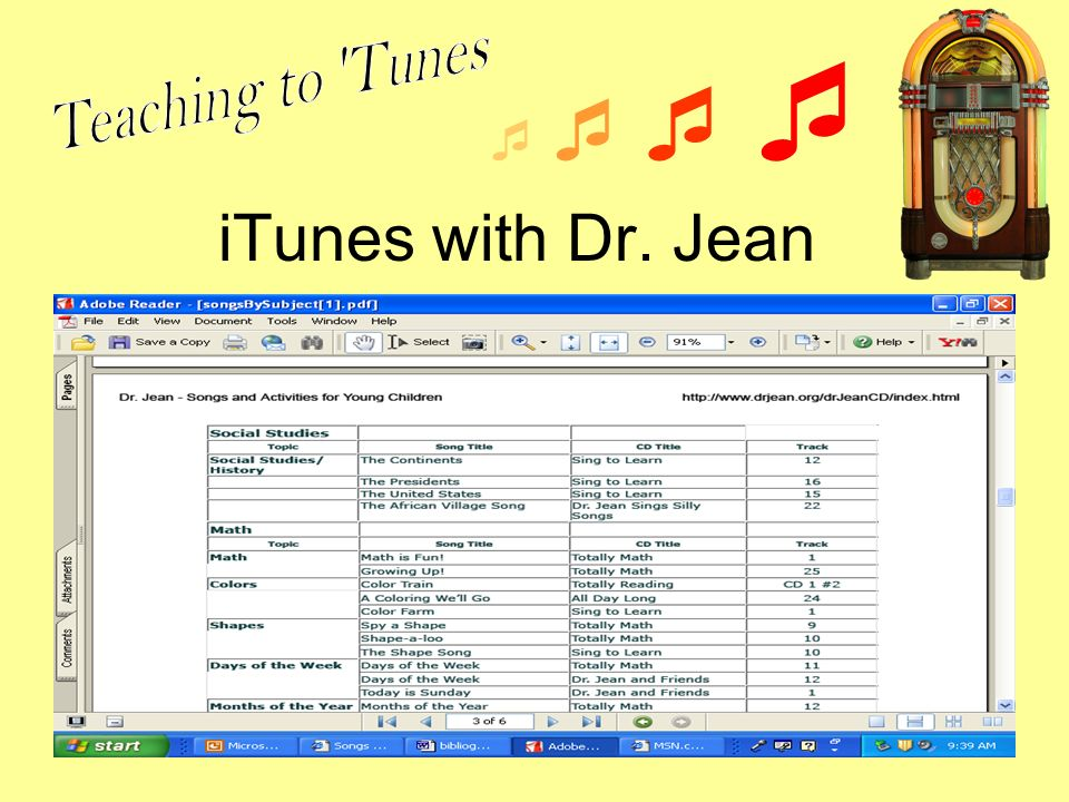 iTunes with Dr. Jean