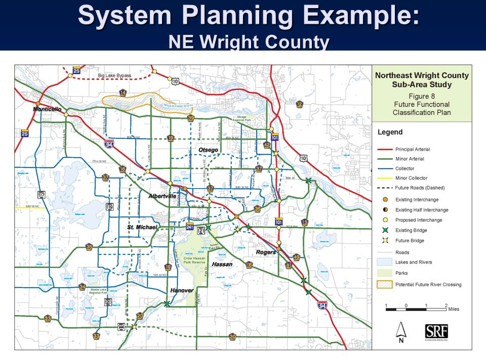 System Planning Example: NE Wright County