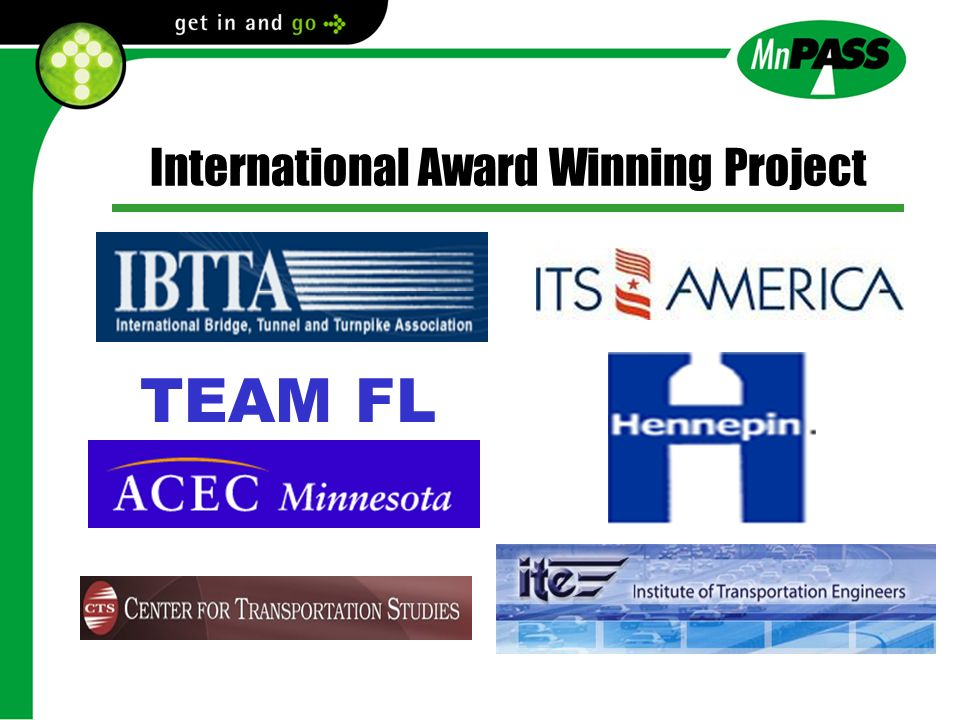 International Award Winning Project TEAM FL
