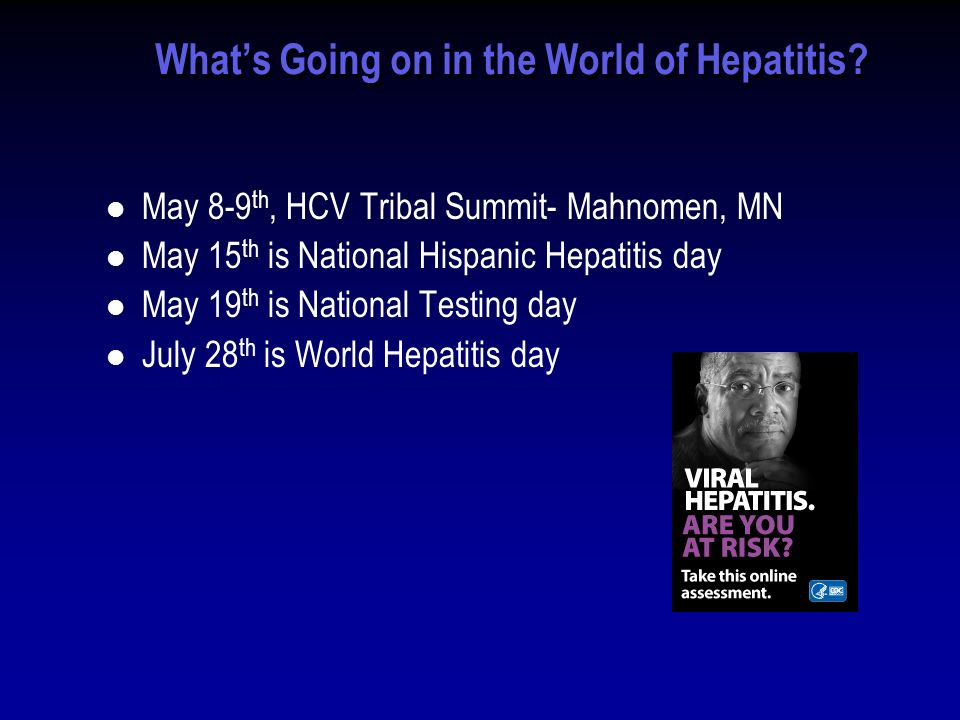 Whats Going on in the World of Hepatitis.