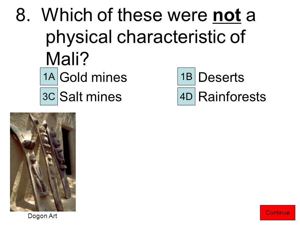 7.Why was salt as valuable as gold. It was made into jewelry.