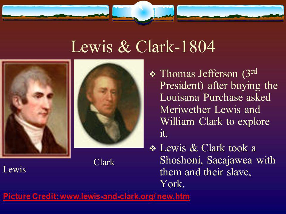 Thomas Jefferson bought the Louisiana Purchase from Napoleon of France.
