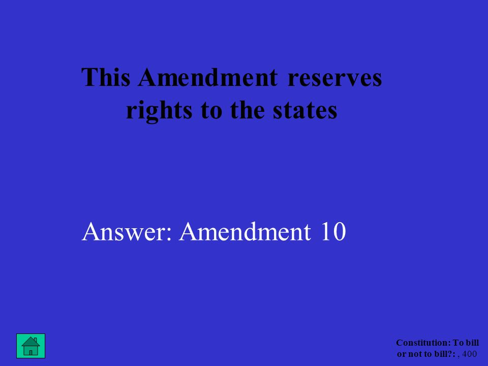 Constitution: To bill or not to bill :, 300 This is the name of the group that did not want to ratify the constitution because it did not guarantee citizens basic rights and freedoms Answer:Anti-Federalists