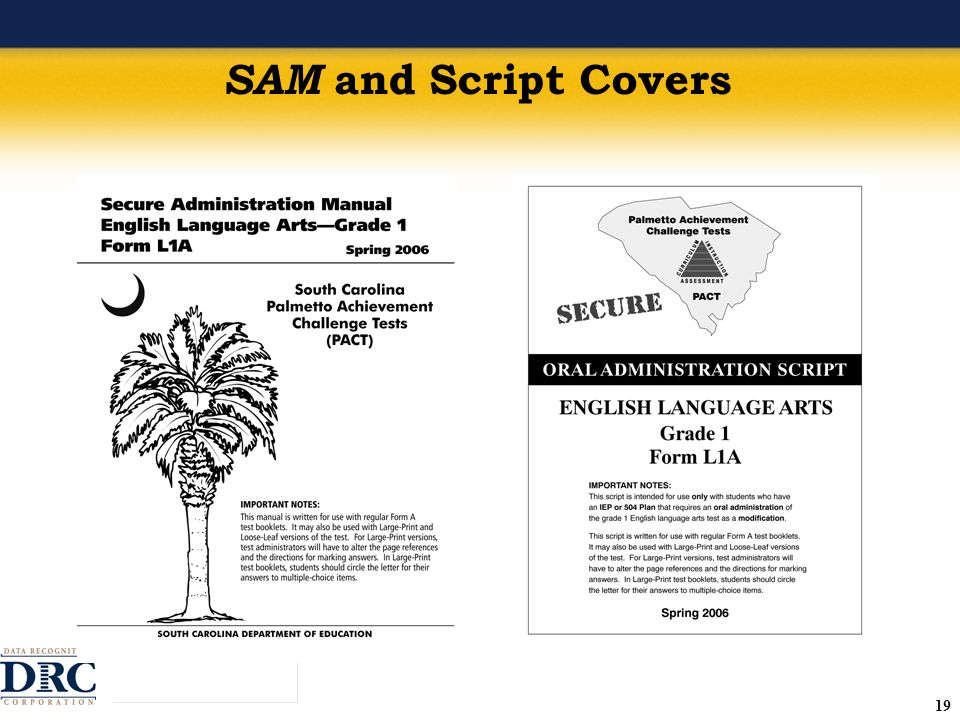 19 SAM and Script Covers