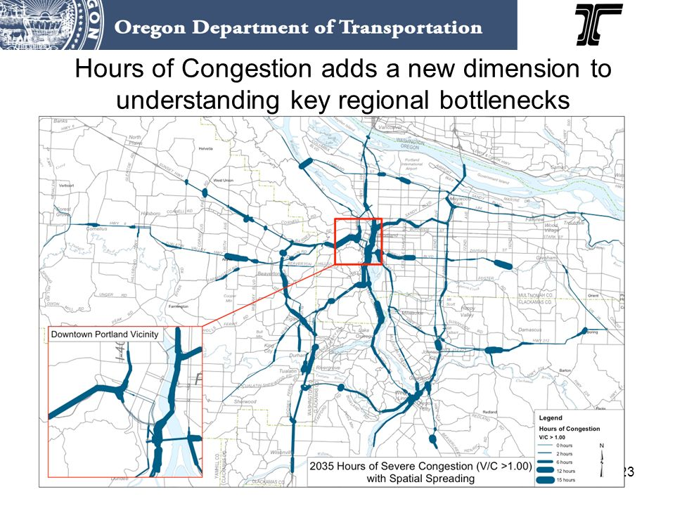 23 Hours of Congestion adds a new dimension to understanding key regional bottlenecks
