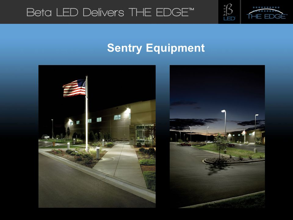 #title# Beta LED Application Photos Sentry Equipment