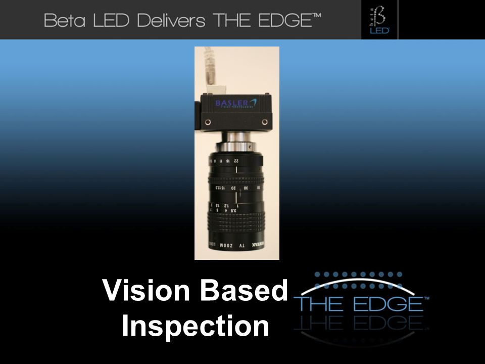 Vision Based Inspection