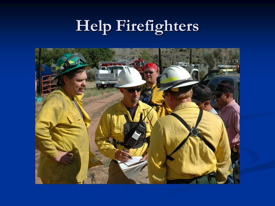 Help Firefighters