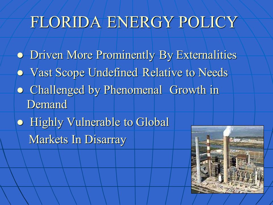 235b8d4d35e4c FLORIDA PUBLIC SERVICE COMMISSION WORKSHOP ON RENEWABLE ENEGY On ...